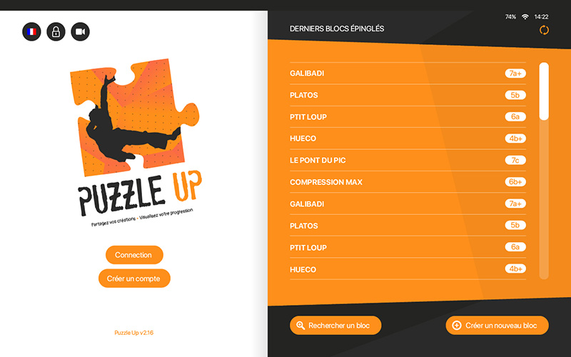 puzzle up application escalade