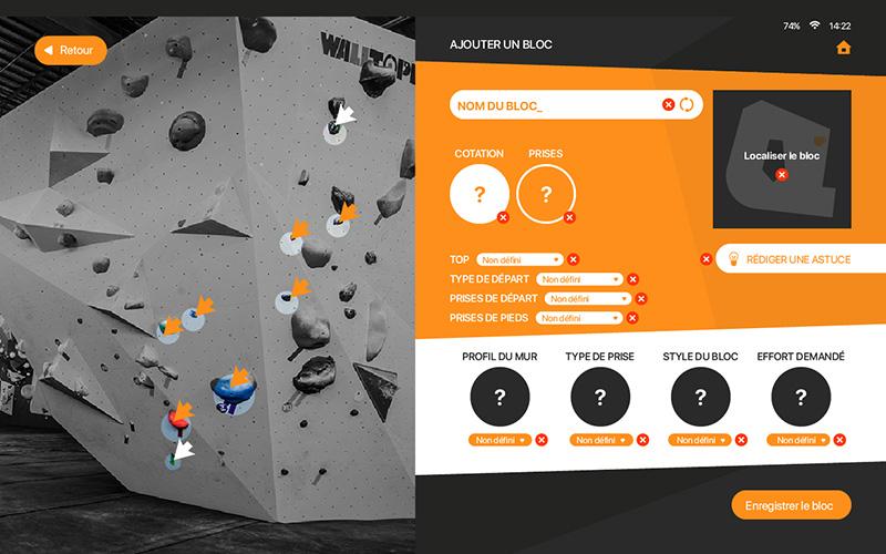 puzzle up application escalade interface